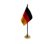 12x Germany Hand Table or Waving Flag Country German Party Pack - No Bases