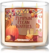 Bath and Body Works Pumpkin Pecan Waffles 3 Wick Candle