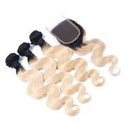 Brazilian Body Wave Ombre Virgin Hair 7A Unprocessed Brazilian Ombre Hair Extensions 4PCS body wave