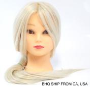 Cosmetology Protein Fibre Hair Cutting Manikin, 22-70cm