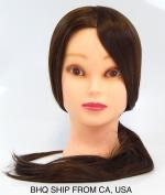 Cosmetology Protein Fibre Hair Cutting Manikin, 24-70cm