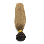 Mxangel Two Tone weave 60cm 4/27, Straight Ombre Human Hair Extensions, Remy Beruvian Hair Ombre Blonde Weave 100 Gramme