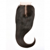 BLISSHAIR 7a Lace Closure Virgin Indian hair Straight Wave 8.9cm x 10cm Middle Part 36cm