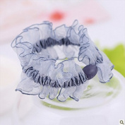 Floral Lace Hair Scrunchy Hair Ties Hair Bands,Hanmei