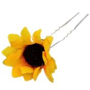 Bluelans 5 x Daisy Sunflower Bridal Wedding Hair Pins Clips