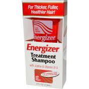 Hobe Labs, Energizer Treatment Shampoo with Jojoba & Vitamin B-5, 4 fl oz (118 ml) - 2pc