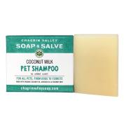 Chagrin Valley Soap & Salve - Organic Natural Dog Shampoo - Creamy Coconut Milk