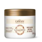 Linha G Gelatina Capicilin - Modelador Natural De Cachos 350 Gr -