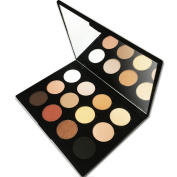 12 Colour Makeup Eyeshadow Palette, Nude Natural Colours by Beauty Bon
