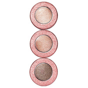 Physician's Formula, Inc., Shimmer Strips, Gel Cream Shadow & Liner Trio, Extreme Shimmer, Nude Eyes, 5ml (4.8 g) - 2pc