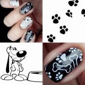 Born Pretty Animal Theme Nail Art Stamping Template Image Plate BORN PRETTY BP-L025