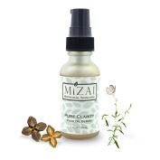Mizai Raw Organic Superfood Face Oil Serum, PURE CLARITY Infused with Evening Primrose, Guava, Sacha Inchi, Green Tea and Chia
