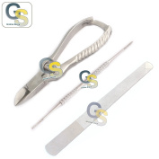 G.S TOENAIL CLIPPERS PODIATRY INSTRUMENTS FOR THICK NAILS INGROWING TOE NAIL FILE
