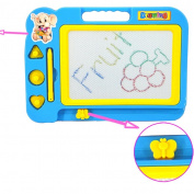 Sandistore Kid Colour Magnetic Writing Painting Drawing Graffiti Board Toy Preschool Tool