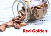 MDLG Vintage 90pcs Red Golden Heart Shape Bottled Glass for Wax Seal Sealing Stamp Wedding Invitations Adhesive Wax Sticks Beads