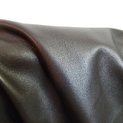 DARK BROWN COW HIDE LEATHER SKINS 17-2sqm 1.5-60ml UPHOLSTERY BOOKBINDING CHAP NAT Leathers