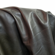 DARK BROWN COW HIDE LEATHER SKINS 25cm x 50cm CUTTING 1.5-60ml UPHOLSTERY BOOKBINDING CHAP NAT Leathers