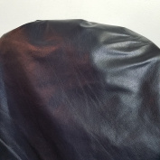 NAVY BLUE COW HIDE LEATHER SKINS 30cm SQUARE CUTTING 60ml UPHOLSTERY BOOKBINDING CHAP NAT Leathers (Navy Blue)