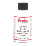 Angelus Leather Paint 120ml Flat White