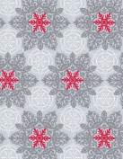 Christmas Lace Gift Wrap Roll 60cm X 4.6m - Holiday Gift Wrapping Paper