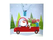 Giant Square Santa Car Gifts Gift Bag