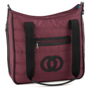 Cosy Coop Quilted Nappy Bag, Scarlet