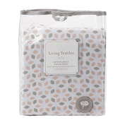 Living Textiles Jersey Fitted Sheet, Cherry Blossom
