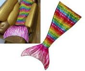 Danti 2016 Super Soft Cute Colour Handmade Mermaid Tail Blanket apply on all seasons