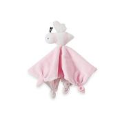 Burt's Bees Baby Plush Bee Lovey 100% Organic Cotton Blanket in Pink