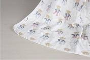 Riho Baby 100% Muslin Cotton Gauze No Formaldehyde No Phosphor Bath Towel Swaddle Blanket(8 layers)