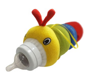 Happy Cherry Infant Baby Hungry Caterpillar Baby Bottle Cover Protect Insulating By Bottle Pets