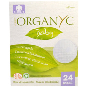Organyc, Baby, Nursing Pads, 24 Pieces - 2pc