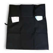 Emmzoe Nappy Changing Mat Pad Storage Pockets - Travel On-the-Go Super Lightweight, Portable, Water Resistance