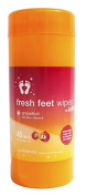 Fresh Feet Wipes for Kids - Grapefruit 45 ct Canister