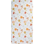 Great Friends Design Playard Portable Crib/Toddler Bed Mattress Pad Includes Carrying Case Cover With Handles by TINEO