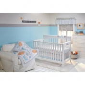 Little Bedding by NoJo Celestial Baby 10-Piece Crib Bedding Set /Crib/Toddler Bed
