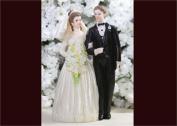 6 Poly Resin Wedding Cake Topper Couple