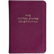 Palm-Size Constitution in MAGENTA Leather by Graphic Image™ - 2.75x3.75