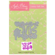 Apple Blossom Craft Die DIOB0115 You Make My Heart Sing