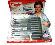 Silver Sparkle glitter gel Pen