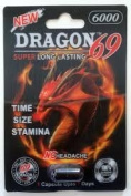Dragon 69 - 6000 All Natural Male Enhancement Sex Pills