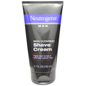 Neutrogena, Men, Skin Clearing Shave Cream, 5.1 fl oz (150 ml) - 2pc