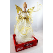 Angel Tree Topper Gold/Ivory
