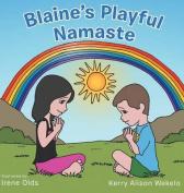 Blaine's Playful Namaste