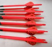 Easton ST Axis N Fused 340 Carbon Arrows w/Blazer Vanes Wraps 1/2 Dz.