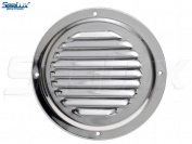 SeaLux Stainless Steel 15cm Marine Boat Engine Louvred Style Vent Cover