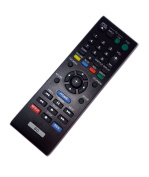 Replaced Remote Control Compatible for Sony BDP-BX510 BDP-S185WM BDPBX58 BDP-S2100 148995911 BD Blu-Ray DVD Disc Player