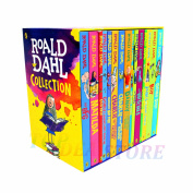 **LATEST EDITION** ROALD DAHL Collection a Phizz Whizzing 15 Classic Books Box Set Childrens Books