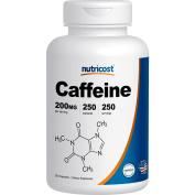 Nutricost Caffeine Pills 200mg, 250 Capsules