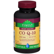 Finest Nutrition Co Q-10 200mg - 90 Softgels